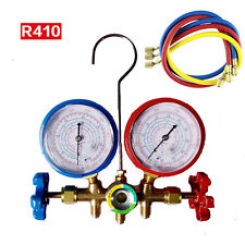 R410a Manifold Pressure Gauge Kit Air Conditioner Refrigeration Set