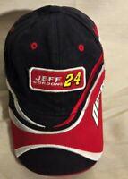 Dupont Motorsports NASCAR Chase Authentics Red Black Jeff Gordon #24 Hat Cap