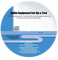 DE Audiogeräte Konfiguration & Test Töne CD