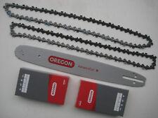 "OREGON Schwert + 2 x Sägeketten 0.325"" 1,3mm 38cm pass. f. DOLMAR HUSQVARNA SOLO"