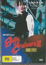 EDDIE AND THE CRUISERS 2 - EDDIE LIVES Tom Berenger, Michael Pare ALL REGION NEW