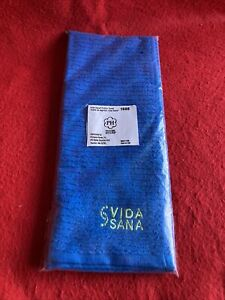 Princess House Vida Sana Cotton Towel Blue Color #1688  New With Bag