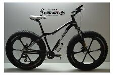 Fat bike 26 in races black completely customizable