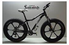 Fat bike 26 a razze nera completamente personalizzabile