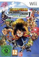 Nintendo Wii +Wii U ONE PIECE UNLIMITED CRUISE OVP GuterZust.