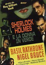 Sherlock Holmes E La Donna In Verde DVD GOLEM VIDEO