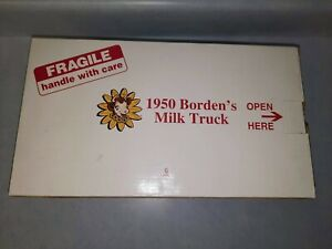 Historic Die Cast 1950 Bordens Divco Milk Truck by Danbury Mint Box ONLY