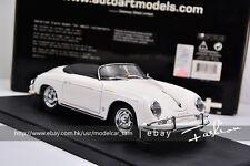 Autoart 1:18 Porsche 356A Speedster White
