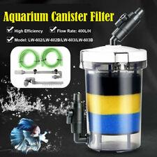 External Canister Filter Aquarium Fish Tank Sponge Freshwater LW-602/603 30 Gal