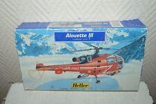 MAQUETTE HELICOPETRE SECUTITE CIVILE ALOUETTE III HELLER NEUF 1/72 MODEL KIT