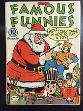 1942 FAMOUS FUNNIES 101 FN- WP! Scorchy Smith BUCK ROGERS Santa/Toy Soldier Cvr!