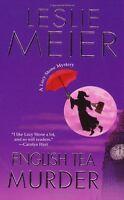 English Tea Murder (A Lucy Stone Mystery) by Leslie Meier