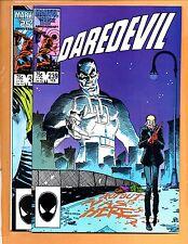 Daredevil #239 & 240 Art Adams Black Widow Direct Edition Nm- to Nm