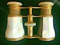 Opera Glasses Mother Of Pearl Antique Victorian Mop Queen & Co Phila 1869 France