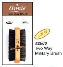 2 Way Side Wooden Brush Soft Hard Boar Bristle Military Hair Comb All Hair Types