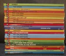 Lot Of 24 Disney Hard Cover Wonderful World Of Reading Children's Classic Books