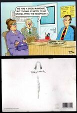 Comic Postcard - Judges No. C29303 - ''We had a good marriage..' by Terry Irvine