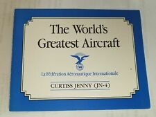 Franklin Mint Curtiss Jenny Jn-4 The Worlds Greatest Aircraft Original Coa