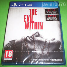 THE EVIL WITHIN NUEVO Y PRECINTADO PAL ESPAÑA PLAYSTATION 4 PS4