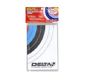 3pk Delta FITA NAA 40cm paper archery targets bulls eye bow arrow bulls eye
