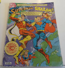 SAGEDITION  Superman contre SHAZAM !   format géant ! JAN13