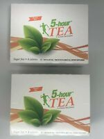 5 Hour Energy Shot Peach Tea TWO 12 ct Boxes 1.93 oz Sugar Free