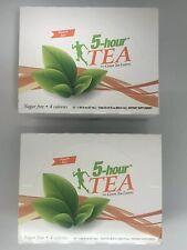 5 Hour Energy Shot Peach Tea TWO 12 ct Boxes 1.93 oz Sugar Free