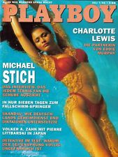 PLAYBOY 1993/07 [Juli 7/93] * Charlotte Lewis * Anna Bach * Michael Stich  * TOP