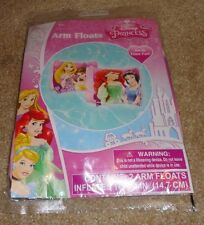 Brand New Disney Princess Girl's Inflatable Set of Pool Arm Floats w/ Repair Kit