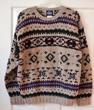 Vintage Woolrich Mens L 100% Wool Sweater