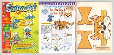 SCHTROUMPF N°  4 édit 1999  avec MONTAGE MASQUE D'AZRAEL sans poster