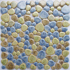 ceramic pebble mosaic tile kitchen bathroom bar floor hotel saloon wall tiles