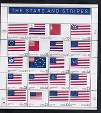 3403  STARS  &  STRIPS       M NH FULL SHEET OF  20    SPECIAL SALE  @ FACE