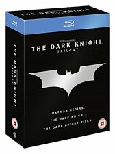 THE DARK KNIGHT TRILOGY RISES BATMAN BEGINS BLU RAY COLLECTION RB Not a DVD