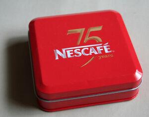馬來西亞雀巢75週年杯墊 Nescafé Coffee Malaysia 75 Years Coaster Set of 4