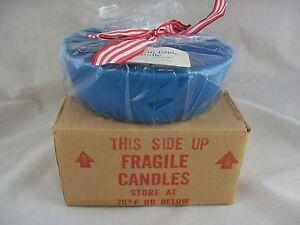 Longaberger Candle American Eagle Casserole Insert NIB Blue