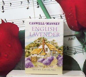 Caswell Massey English Lavender Soap 3.25 Oz. NIB