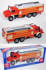 Siku 2109 Mercedes Zetros Feuerwehr, FEUERWEHR / C 112, 1:50, OVP, Neuheit