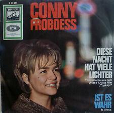 """7"""" 1964! CONNY FROBOESS : Diese Nacht hat viele Lichter /VG+?"""