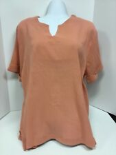 Ladies  short sleeved top. size.  4X.