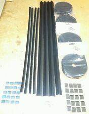Ford Escort Mk2 4dr door window kit. (Weather Seals)