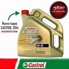 OLIO MOTORE CASTROL EDGE 5W40 TITANIUM FST TURBO DIESEL SINTETICO da 4 LT 505.01