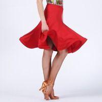 Latin Dance Fishtail Skirt Dress Salsa Tango Ballroom Dancewear Rumba Show Charm