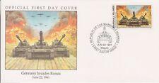 W22 1-1 Isole Marshall FDC COVER 1991 Germania invade la Russia 1941