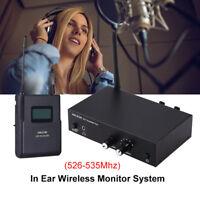 ANLEON S2 Wireless IEM UHF Stereo Monitor System Digital Headphones 526-535Mhz