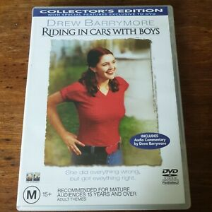 Riding In Cars With Boys DVD Collector's Edition R4 Like New! FREE POST
