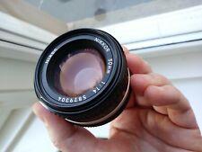 Nikon Nikkor 50mm 1.4 Ais lens