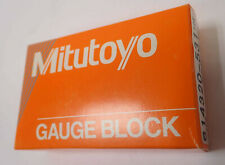 MITUTOYO STEEL GAUGE BLOCK 614320-531 12E .02 INCH ASME O / D NEW OLD STOCK