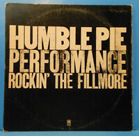 HUMBLE PIE ROCKIN' THE FILLMORE 2XLP PETER FRAMPTON GREAT CONDITION! VG+/VG!!A