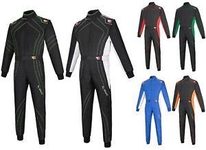 Adult Karting Racing Suit Go-Kart Suit Cordura One Piece Suit Racewear NEW